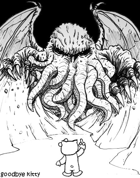 Person-To-Person Call From Mr. Cthulhu, Will You Accept The Charges? (GBK#373)